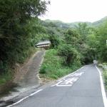 県道よりの進入路